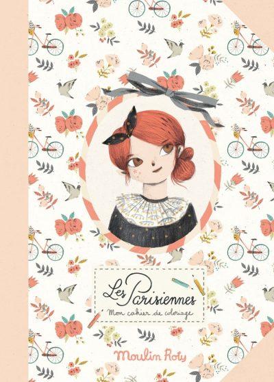 Moulin Roty bojanku je prekrasno ilustrovala Lucille Michieli.Pariški svet skiciran crnim i cvetnim uzorcima.Kreativna aktivnost za mališane koja će im okupirati pažnju.