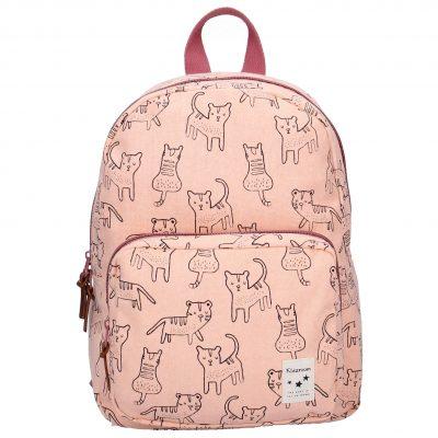 """Ovaj moderni ranac za decz iz Kidzroom kolekcije """"Animal academy"""" sa štampanim mačkama idealan je za odlazak u školu ili na ekskurziju."""