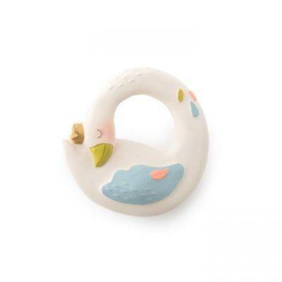 """Preslatka Moulin roty glodalica za bebe, u obliku guske Olge iz kolekcije """"Le voyage d'Olga"""" idealna je za ublažavanje bolnih desni kod bebe!"""